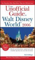 The Unofficial Guide to Walt Disney World 2006