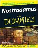 Nostradamus for Dummies