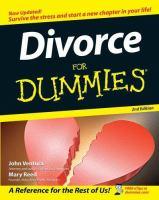 Divorce for Dummies