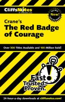 CliffsNotes Crane's The Red Badge of Courage
