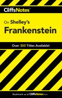 CliffsNotes, Shelley's Frankenstein