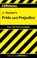 CliffsNotes, Pride and Prejudice