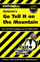 CliffsNotes, Baldwin's Go Tell It on the Mountain