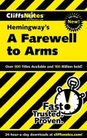 Cliffs Notes Hemingway's A Farewell to Arms