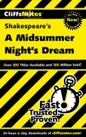 CliffsNotes Shakespeare's A Midsummer Night's Dream
