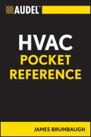 HVAC Pocket Reference