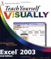 Teach Yourself Visually Excel 2003