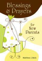 Blessings & Prayers for New Parents