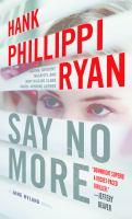 Say No More