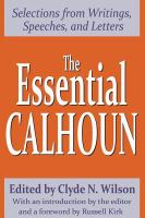 The Essential Calhoun