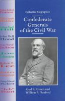 Confederate Generals of the Civil War