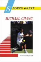 Sports Great Michael Chang