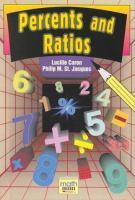 Percents and Ratios