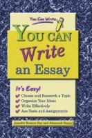 You Can Write An Essay