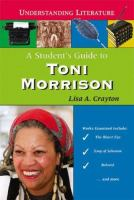 A Student's Guide to Toni Morrison