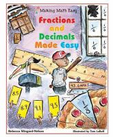 Fractions and Decimals Made Easy