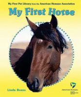 My First Horse