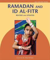 Ramadan and Id Al-Fitr