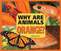 Why Are Animals Orange?