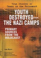 Youth Destroyed-- the Nazi Camps