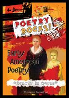 "Early American Poetry, ""beauty in Words"""