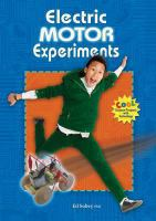 Electric Motor Experiments