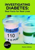 Investigating Diabetes