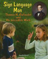Sign Language Man