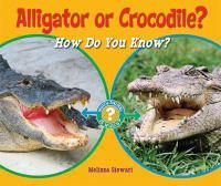 Alligator or Crocodile?