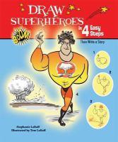 Draw Superheroes in 4 Easy Steps