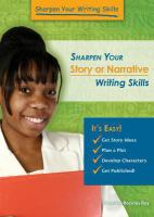 Sharpen your Story or Narrative Writing Skills