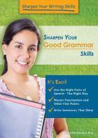 Sharpen your Good Grammar Skills