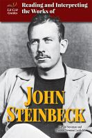 Reading and Interpreting the Works of John Steinbeck
