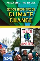 Critical Perspectives on Climate Change