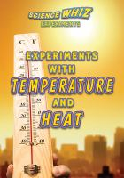 Experiments With Temperature and Heat
