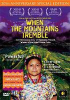 When the mountains tremble