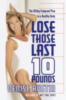 Lose Those Last 10 Pounds