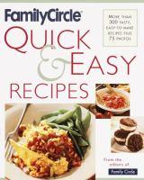 Family Circle Quick & Easy Recipes