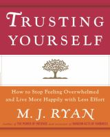 Trusting Yourself