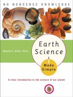 Earth Science Made Simple