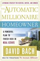 The Automatic Millionaire Homeowner