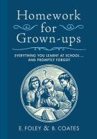 Homework for Grown-ups