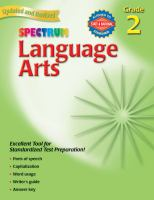 Spectrum Language Arts