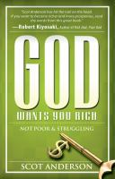 God Wants You Rich