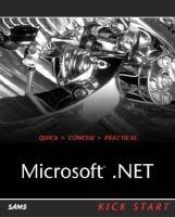 Microsoft .NET: Kick Start