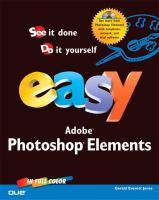 Easy Adobe Photoshop Elements