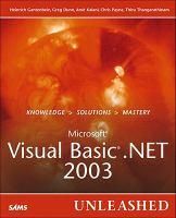 Microsoft Visual Basic .NET 2003 Unleashed