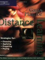 Game Plan for Distance Learning