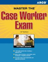 Peterson's Master the Case Worker Exam