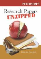 Research Papers Unzipped
